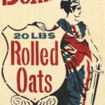 Dominion Rolled Oats Feedbag Pillow