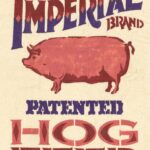 Imperial Hatented Hog Feed Feedbag Pillow