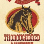 Red Ribbon Thoroughbred Mixture Feedbag Pillow