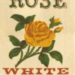 Rose White Rice Feedbag Pillow