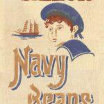 Little Sailor Navy Beans Feedbag Pillow Feedbag