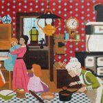 Granny's Kitchen Mid-Size Multi-Stencil Print